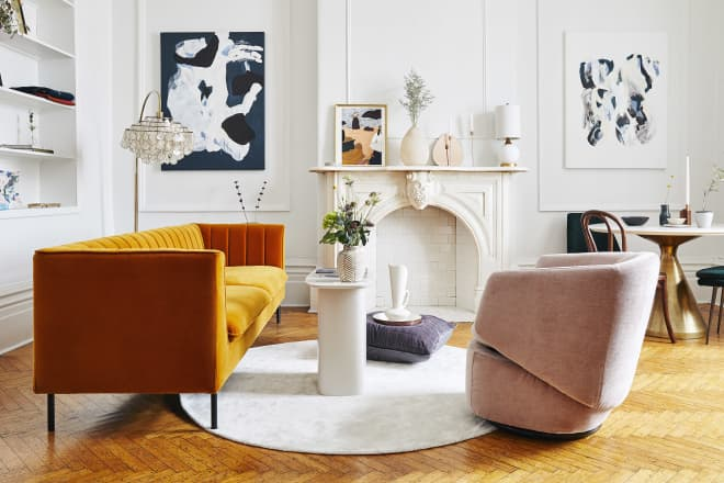 A Countdown of the Most Gorgeous Living Rooms We Saw in 2019
