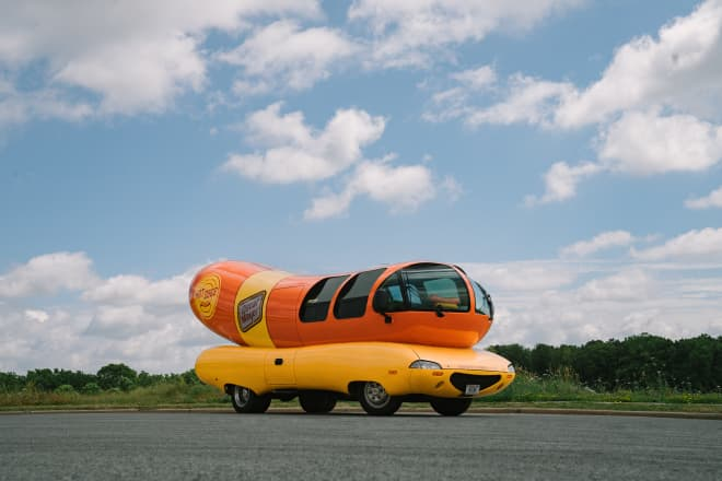 Here's How You Can Stay Overnight in the Oscar Meyer Weinermobile