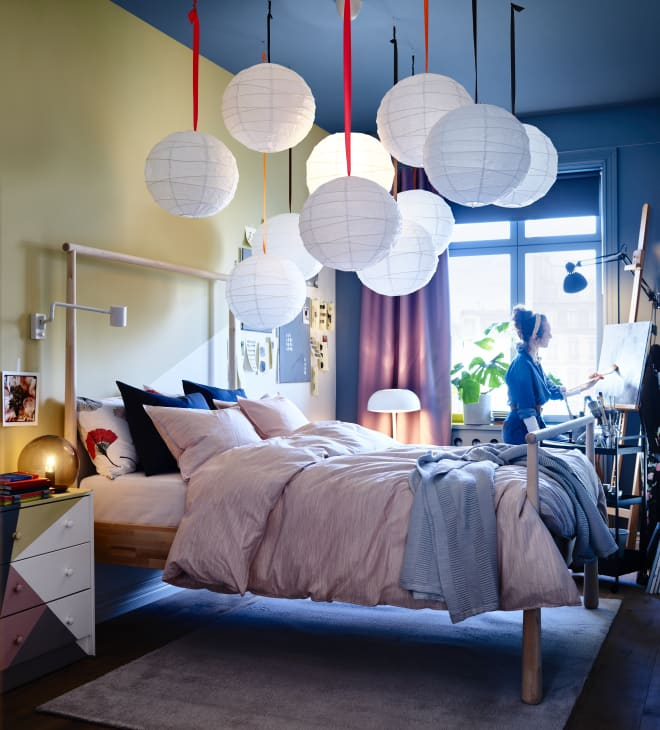 9 Clever Painting Ideas to Steal from the 2020 IKEA Catalog