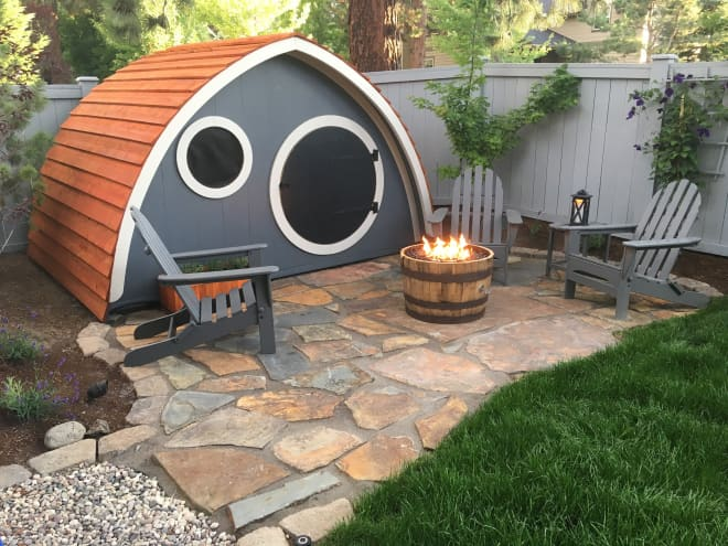Live Like Frodo in Your Very Own Hobbit Hole Playhouse