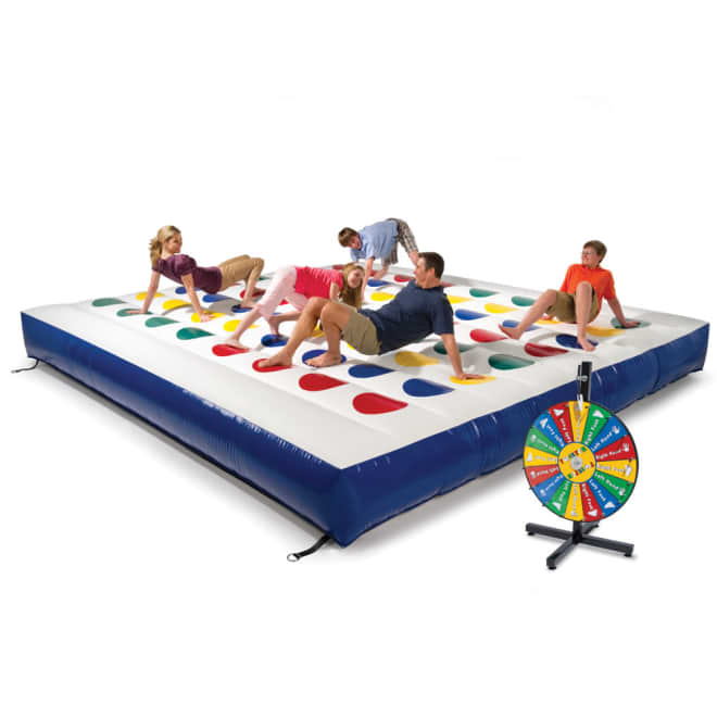 You Can Buy This Inflatable Twister That Makes Game Night Larger Than Life