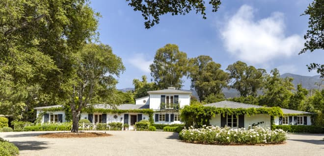 Drew Barrymore's Former Montecito Home Is on the Market for $9.95 Million