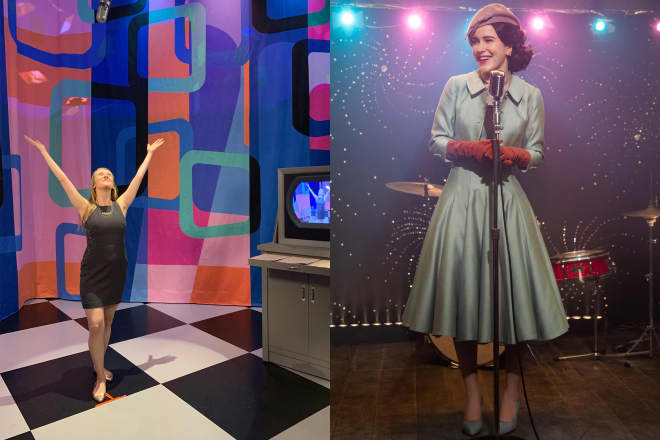We Visited the 'Marvelous Mrs. Maisel' Exhibit in NYC and Boy, the Sets Are as Spectacular as You'd Expect