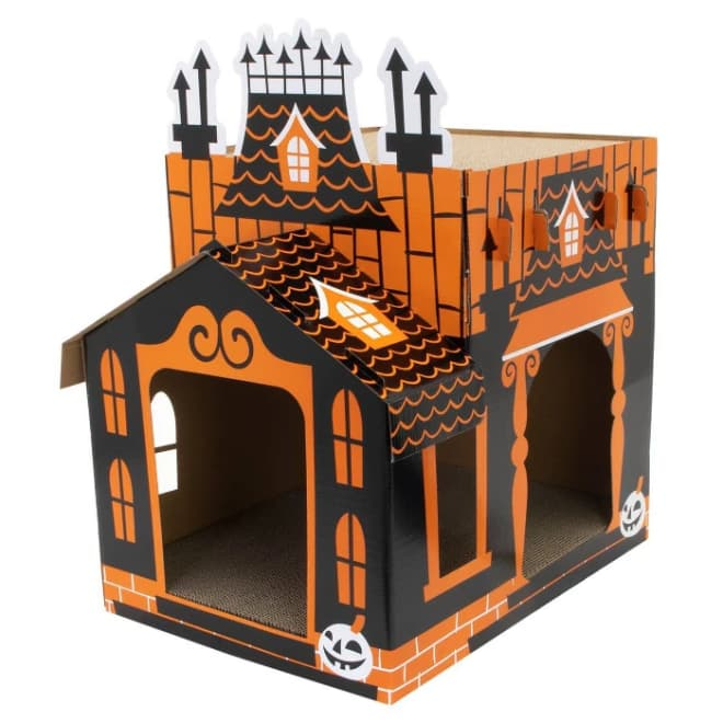 Target Is Selling a Haunted House for Cats, and It's Scarily Cute