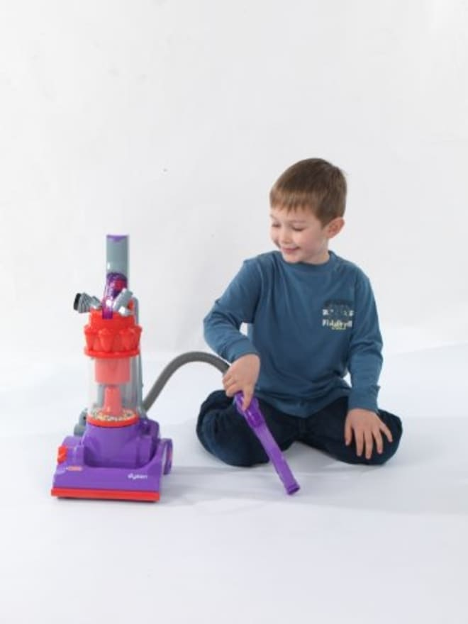 Dyson Now Sells Three Kid-Size Toy Vacuums, Modeled After Its Popular Grown-Up Ones