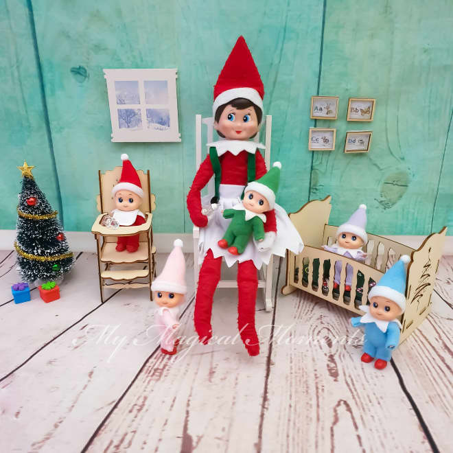 You Can Adopt Elf Babies for Your Elf on the Shelf