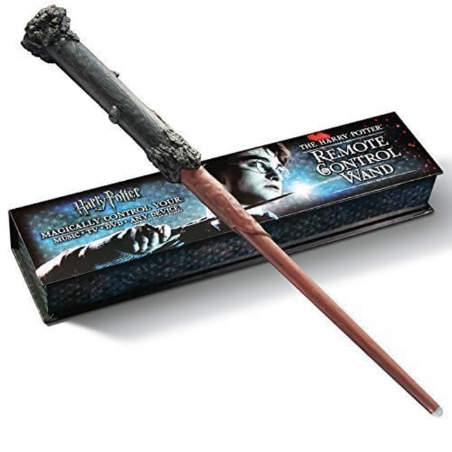 Channel the Magic of a Movie Night at Home With This Harry Potter Remote Control Wand
