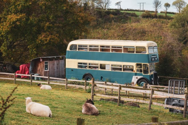 This Double Decker Bus Is Decked Out—As a Vacation Rental