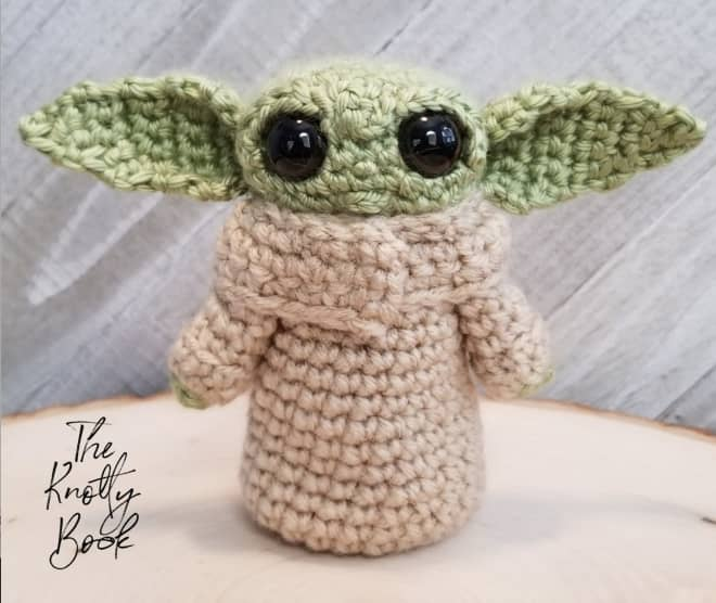 Crochet Your Very Own Baby Yoda, Now You Can