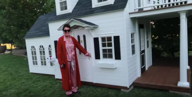 Kris Jenner Surprised Granddaughter Stormi with Her Own Tiny House for Christmas