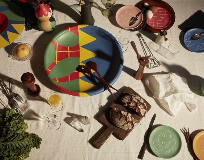 Have Matisse to Dinner with This Art-Inspired Tableware Collection