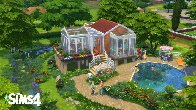"""The Sims"" Are Having a Tiny House Design Contest and Here Are The Best Entries So Far"
