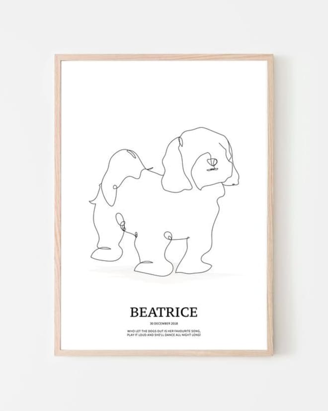 Celebrate Your Pet in Scandinavian Minimalist Style with One of These Portraits