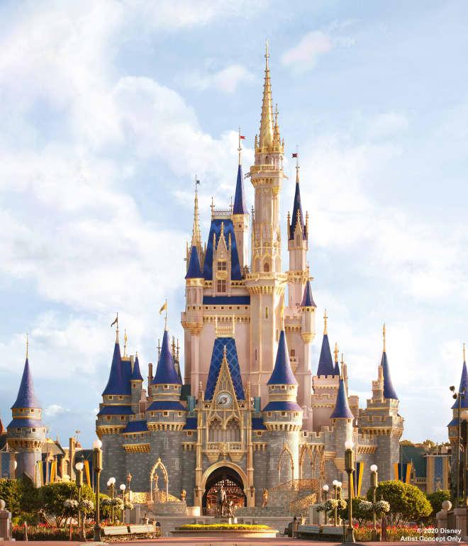 Disney World Heard You Love Reno Shows, So It's Giving Cinderella's Castle a Facelift