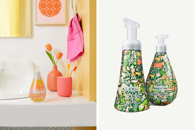 These Soap Bottles Have Gorgeous Patterns and Pay Tribute to Women Artists