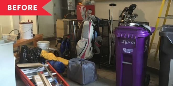 Before and After: A Cluttered Garage Gets a (Zero-Cost!) Cleanup 35 Years in the Making