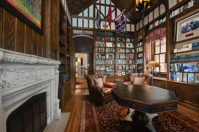 This $6M Home Was Built for a Book Collector and, Wow, When Can I Move In?