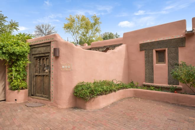 Look Inside: A Magical Middle Eastern Adobe in Santa Fe
