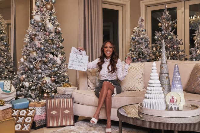 This Celeb Has 36 Christmas Trees in Her House