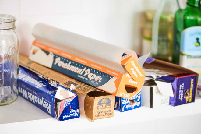 The $8 Hack That'll Make Storing Your Foil and Parchment Paper a Million Times Better