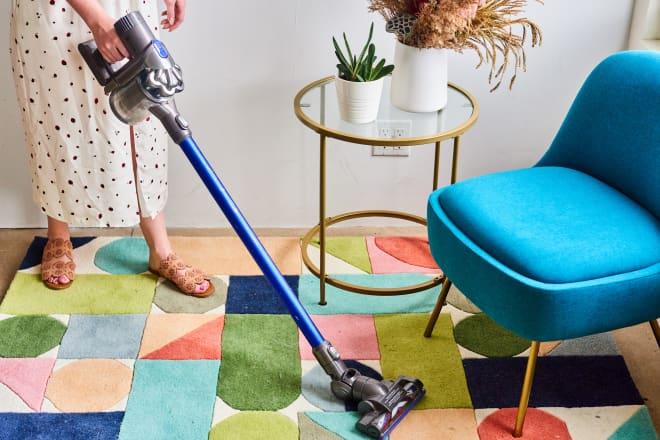 Dyson Stick Vacuums Are on Major Sale and We've Never Been More Excited to Clean Our Floors