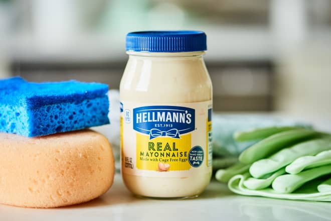 7 Surprising Things You Can Clean with Mayonnaise