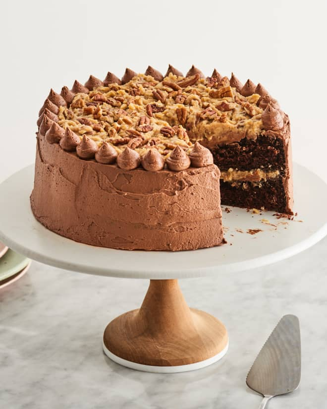 How To Make The Best Ever German Chocolate Cake Not Just