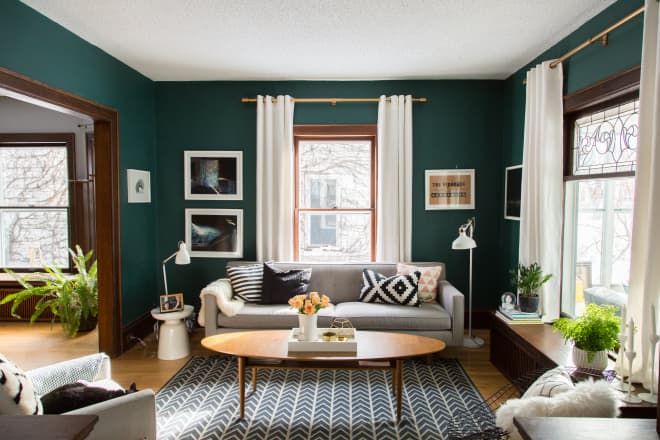 The Best 20 Green Living Room Ideas We've Ever Seen