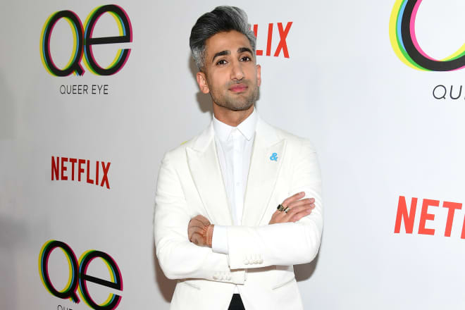 """When Tan France From """"Queer Eye"""" Is In a Bad Mood, He Goes to His Candle Closet (Yes, a Candle Closet)"""