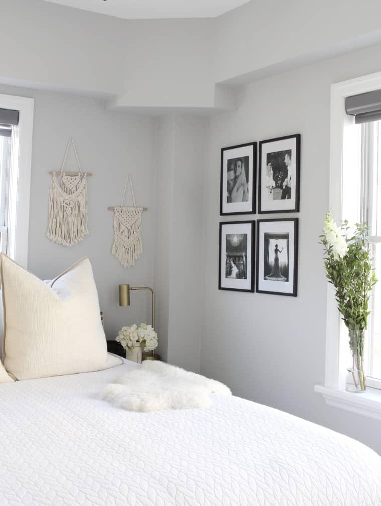 slaapkamer wit modern