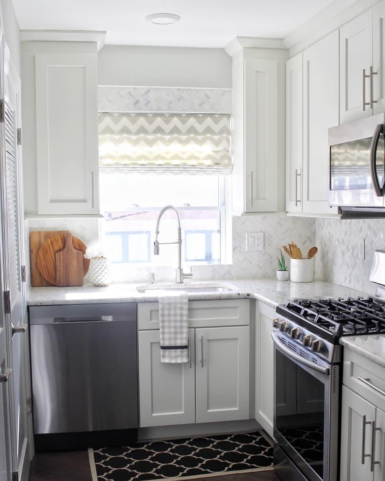 keuken wit modern