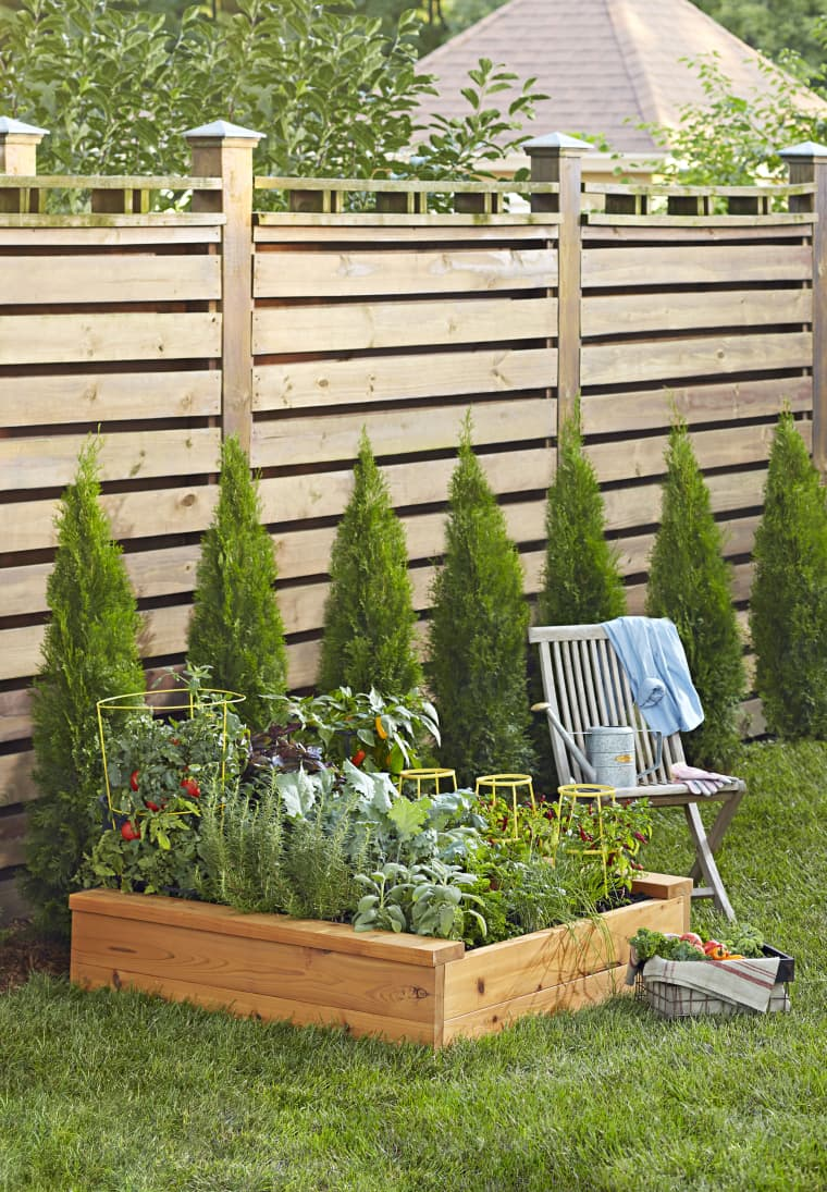 3. Build a Raised Garden Bed