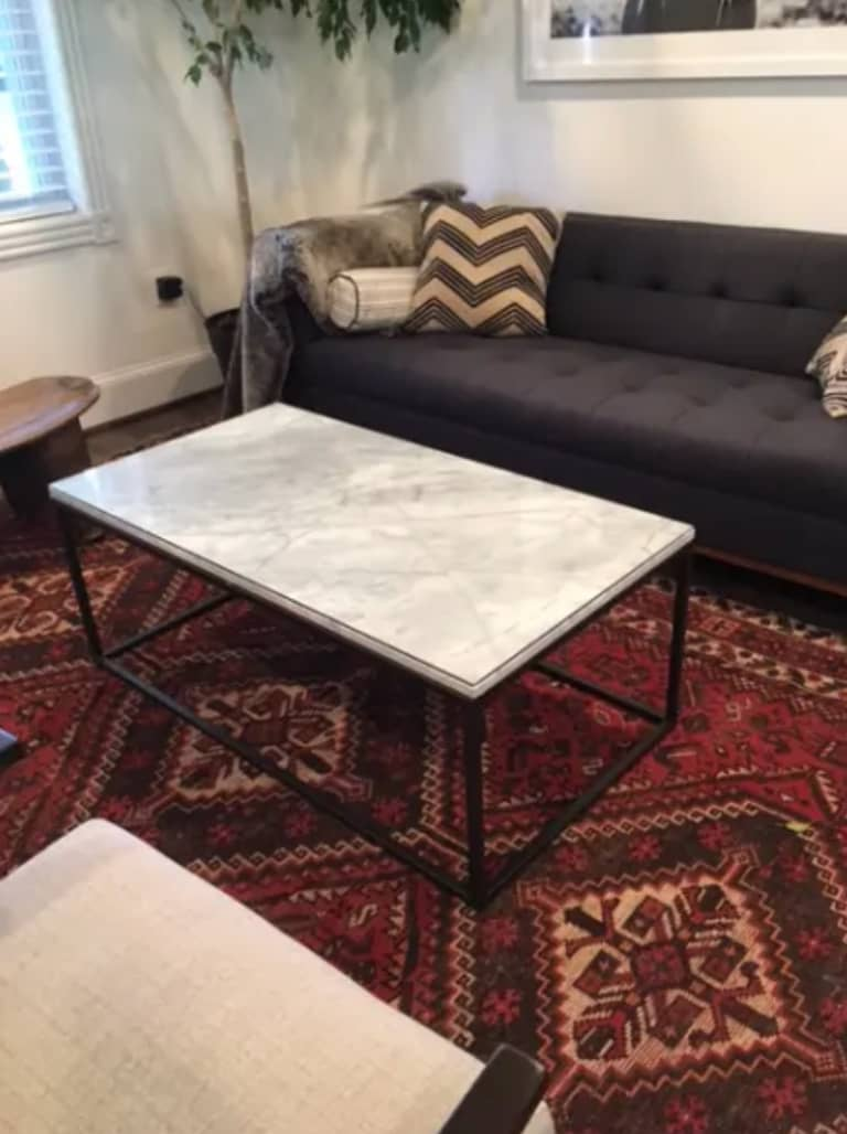 Don T Miss These Marble Coffee Tables On Bazaar Apartment Therapy