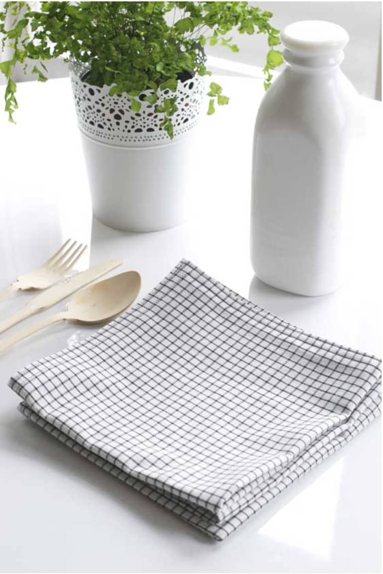 Easy Diy Project Making Your Own Cloth Napkins Apartment Therapy