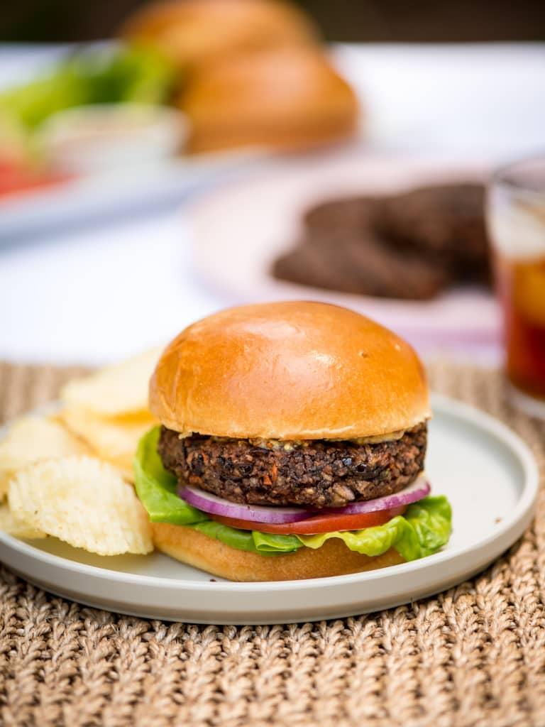 The Best Veggie Burger Recipe Kitchn