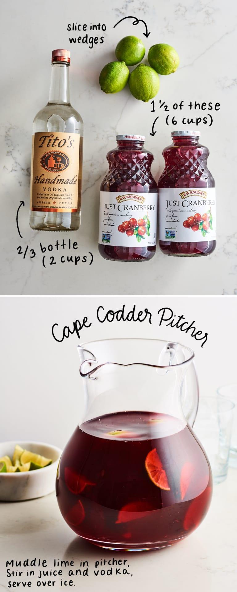 3 Ingredient Vodka Pitcher Cocktails To Serve A Crowd Kitchn