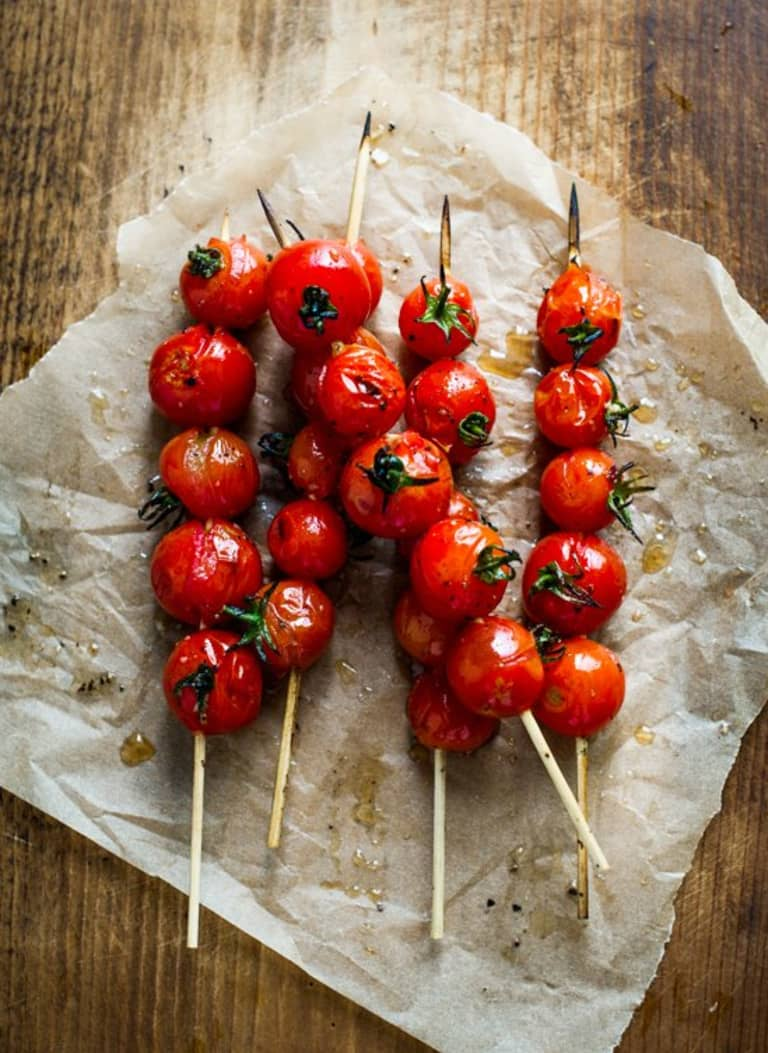 Grilled Cherry Tomato Lollipops Are So Simple And Brilliant Kitchn