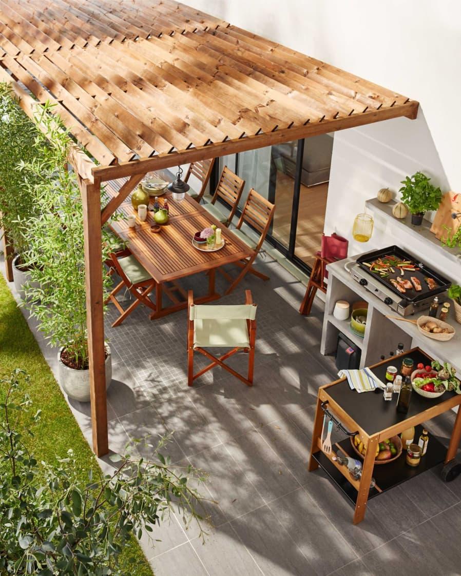 Cocinas exteriores