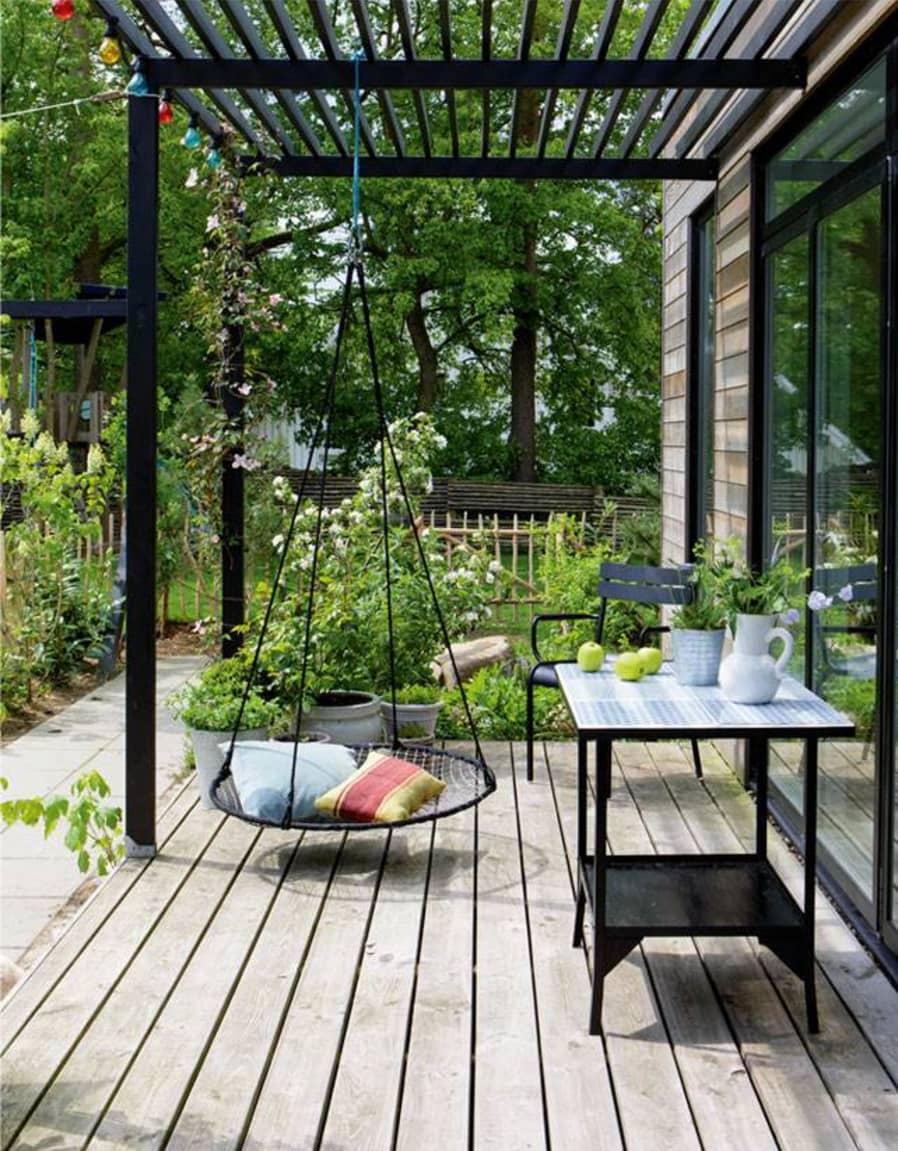 Ideas con pérgolas de jardín