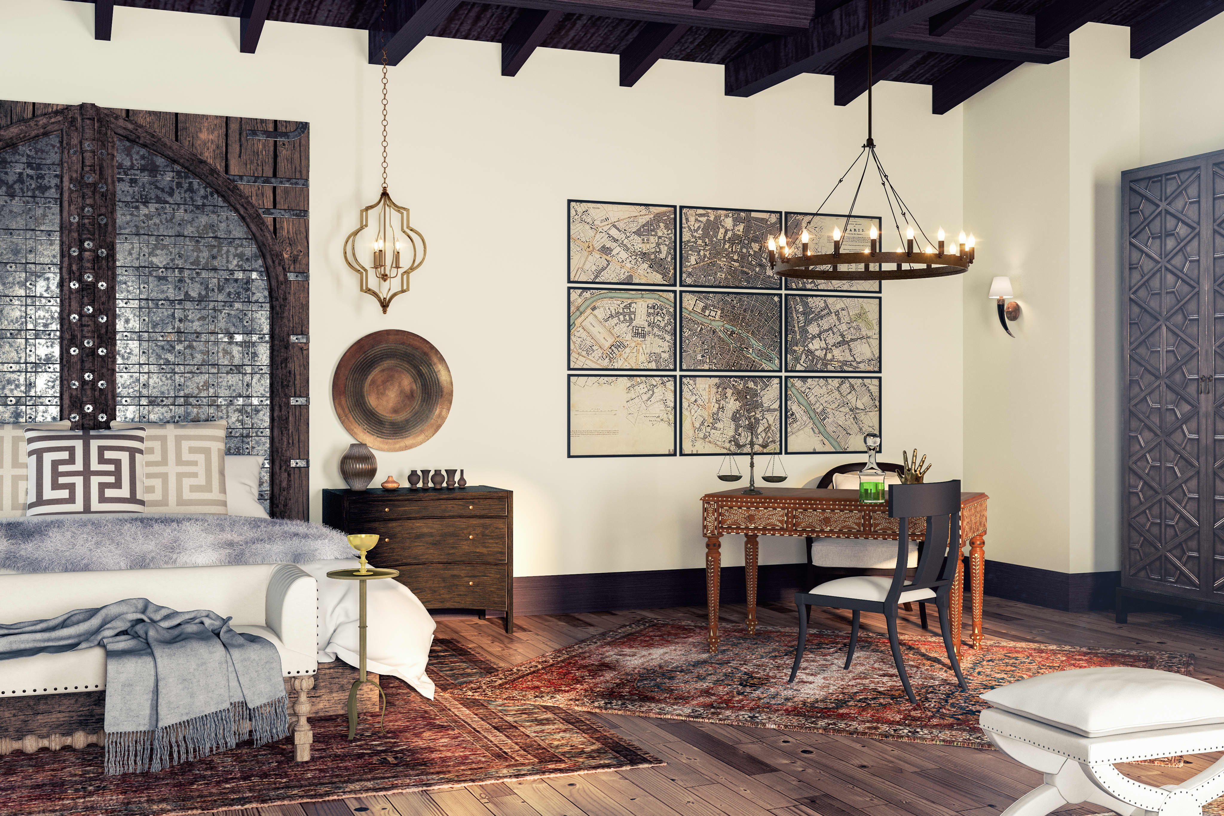 5 Interiors Inspired by Your Favorite 'Game of Thrones' Characters; #HomeDecor #GOT