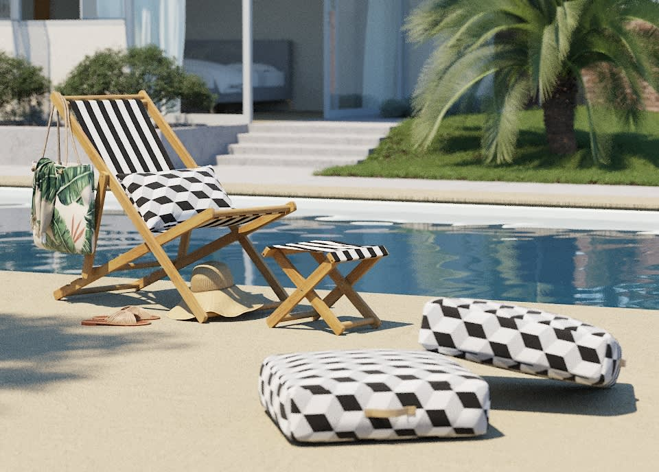 This New Outdoor Collection Can Be Customized with Over 100 Fabrics
