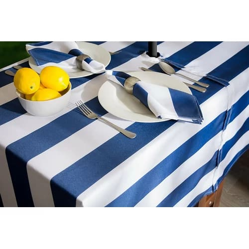 Cabana Stripe Tablecloth, from Wayfair