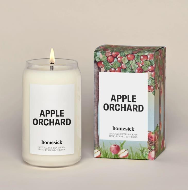 产品形象:苹果园蜡烛