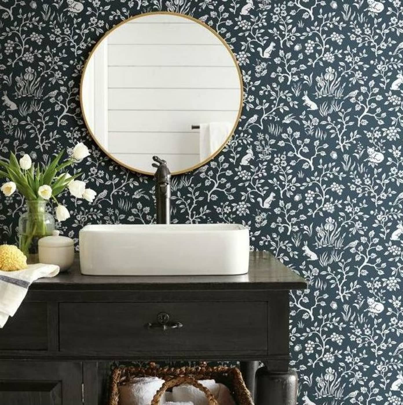 Joanna Gaines' Newest Magnolia Home Wallpaper Collection is a Printed Dream