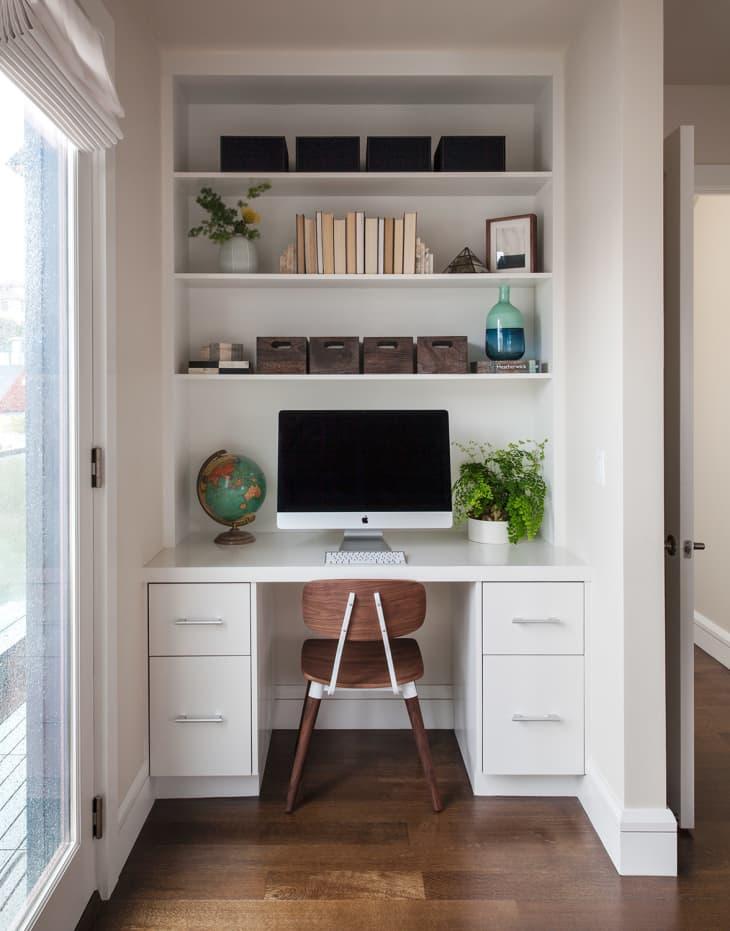 home office renovasi rumah minimalis 2021