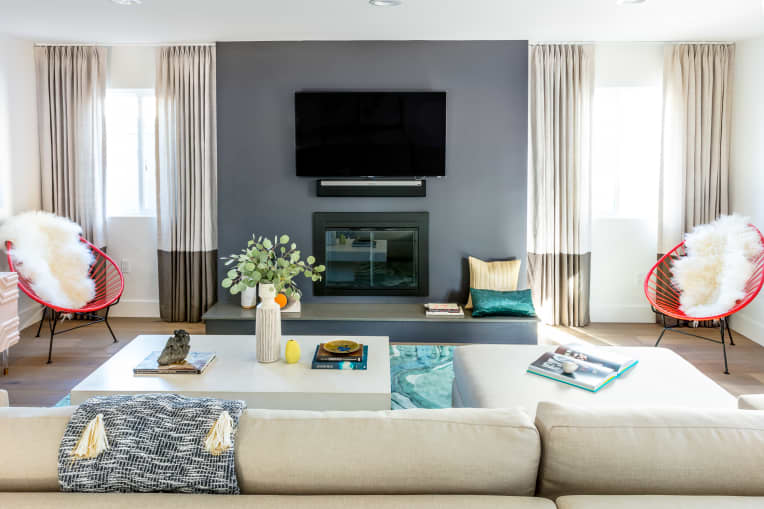 Living Room Designed by Caitlin Murray