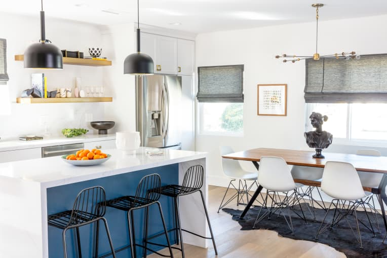Kitchen designed by Catilin Murray of Black Lacquer Design
