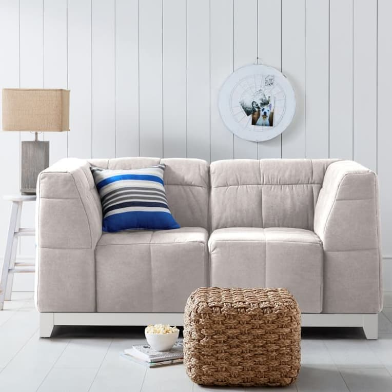 Baldwin Loveseat from Pottery Barn Teen