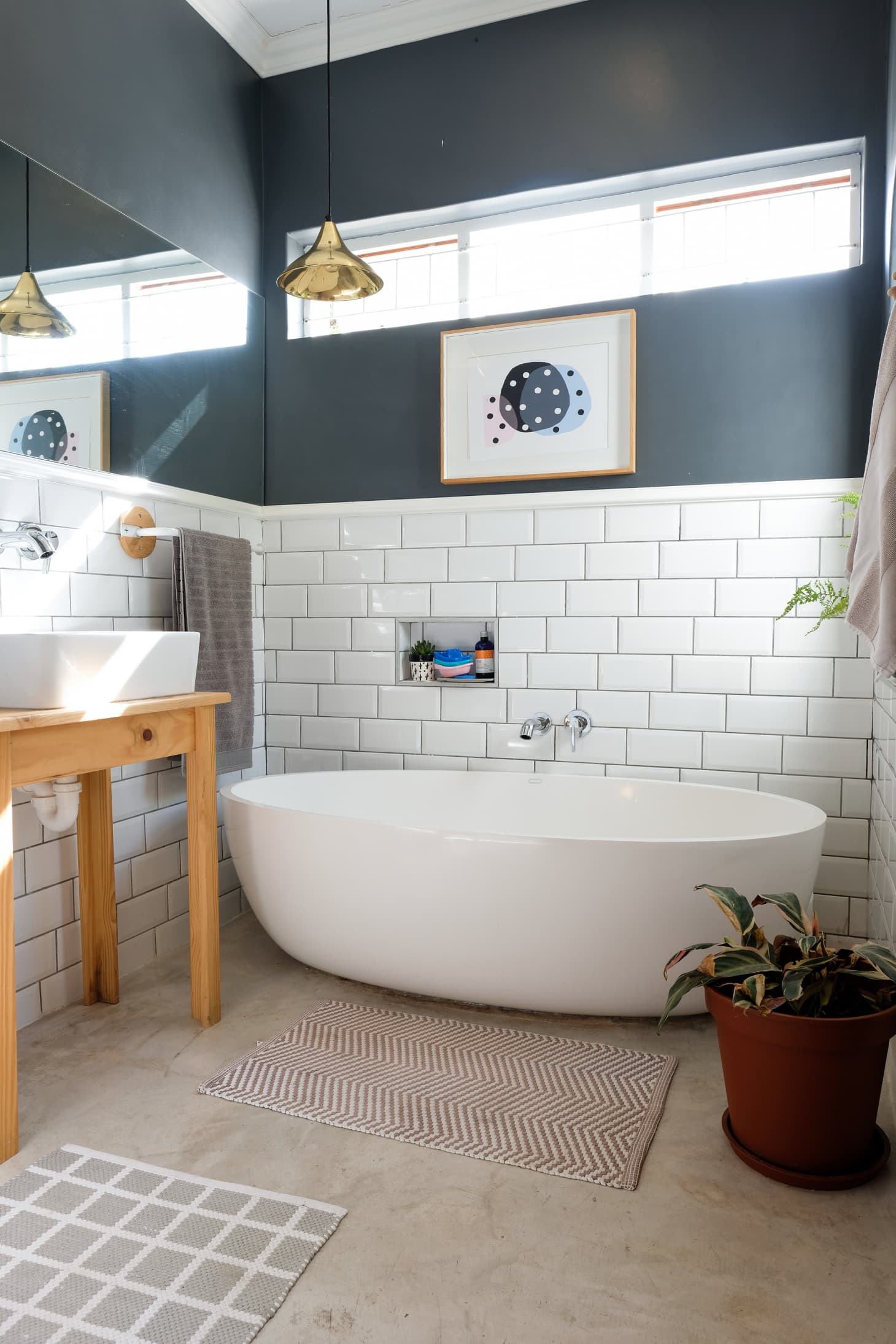 25 Small Bathroom Storage & Design Ideas