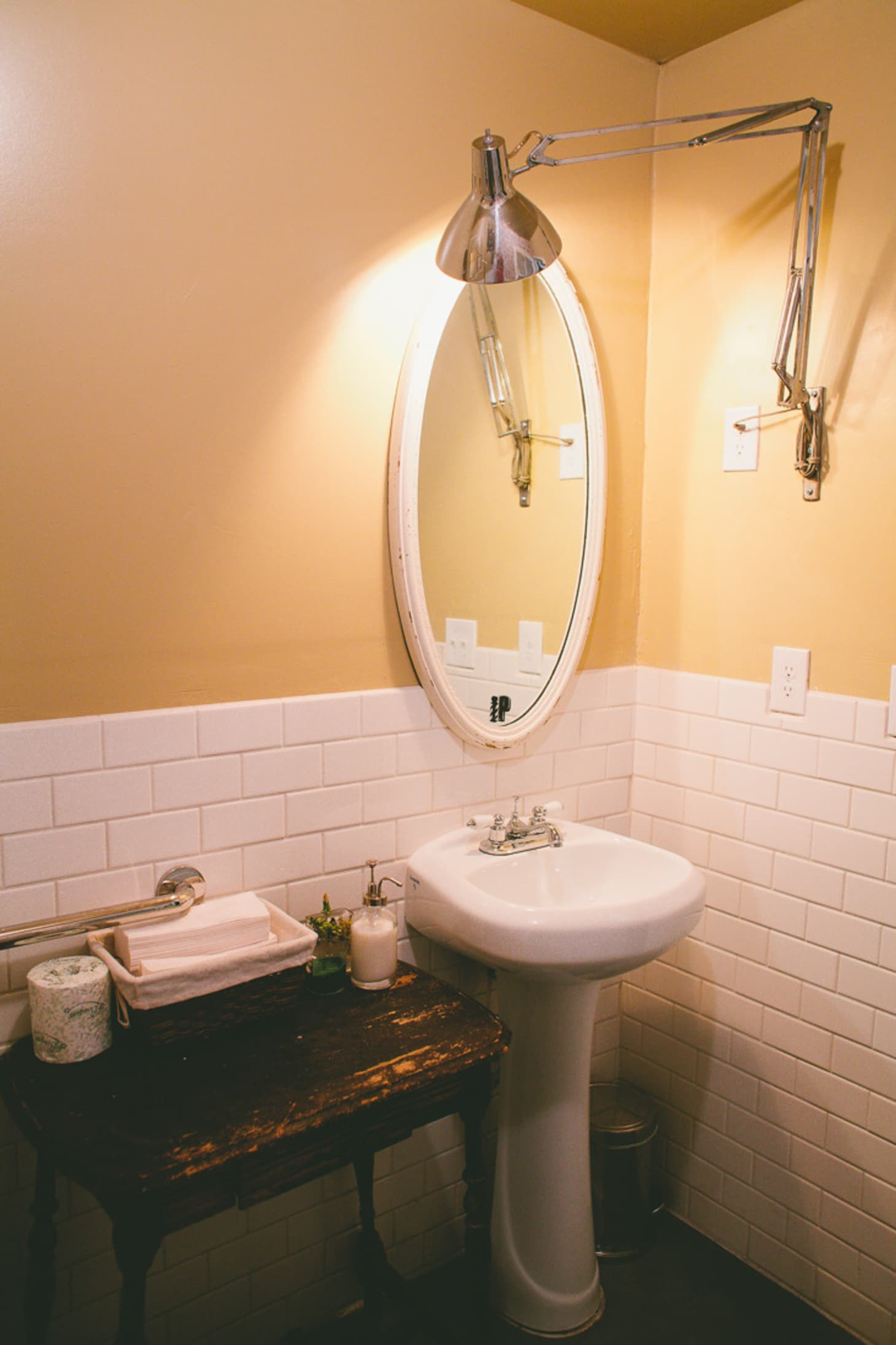 Small Bathroom Ideas: 6 Room Brightening Tips for Tiny ... on Small Apartment Bathroom  id=17593